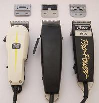 Hairdressing Clippers with Fixed Blades