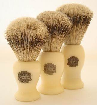 Progress Vulfix 660S shaving brush, ivory colour
