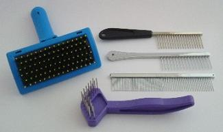 Dog Grooming Tools - Combs