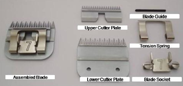 Clipper Blade Components