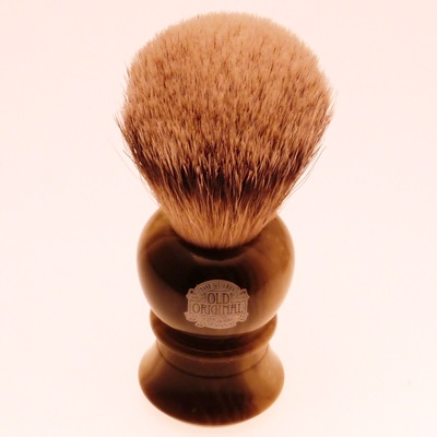 Progress Vulfix Silvertip Badger 2234 shaving brush, faux horn handle