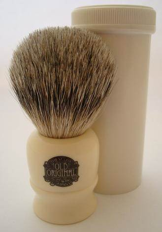 Progress Vulfix 2190 Travel shaving brush, ivory