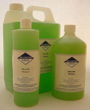 Diamond Edge Citronella shampoo
