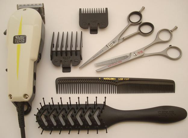 Super quality hairdressing kit - RIGHT-HANDED